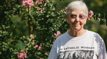 Sister Megan Rice, 82, is one of three people arrested in a break-in at a nuclear complex in Oak Ridge, Tenn. Shawn Poynter for The New York Times
